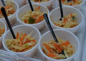 la diva cucina team building green papaya slaw