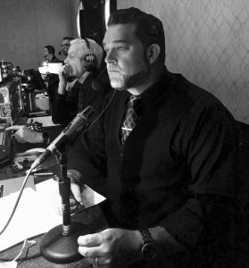 Executive Producer Felix Pike in show mode