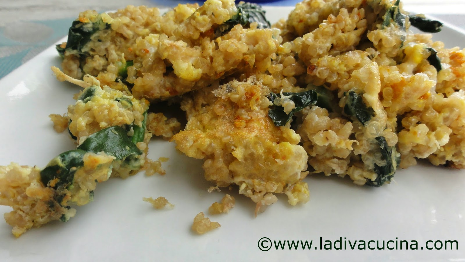 Protein Packed Breakfast: Quinoa, Kale & Egg Scramble with Fresh ...